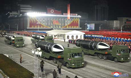 North Korea shows off new submarine-launched missile  AFP