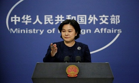 China says it will sanction U.S.  officials for 'nasty' behavior on Taiwan