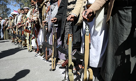 Houthi supporters