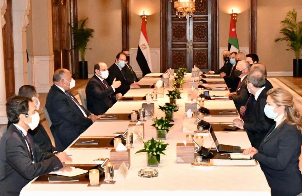 extenssive talks in Amman