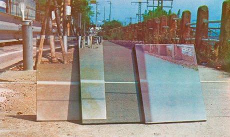"""Satoshi Saito's """"Untitle A"""", silkscreen, 1976"""