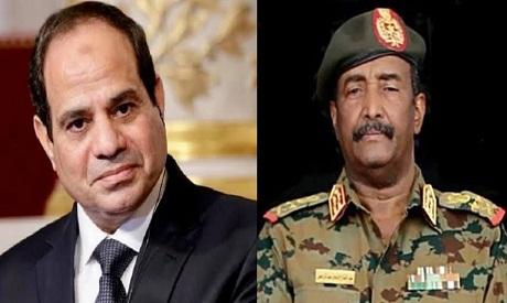El-Sisi and Al-Burhan