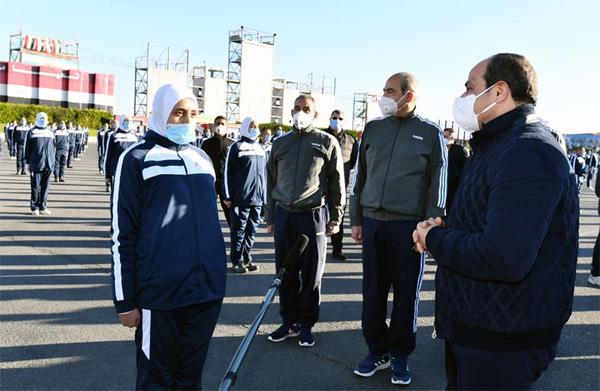 Sisi tours Police Academy
