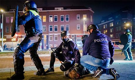 Dutch police arrrest