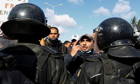 Tunisian protests. File Photo: AFP