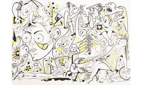 Said Badawy's artwork