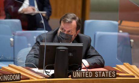 Acting US ambassador Richard Mills