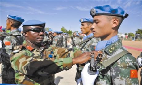 Chinese peacekeeping force in Darfur
