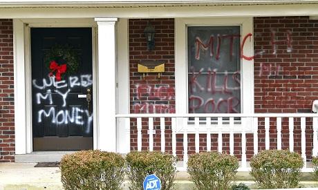 McConnell Vandalism  AP