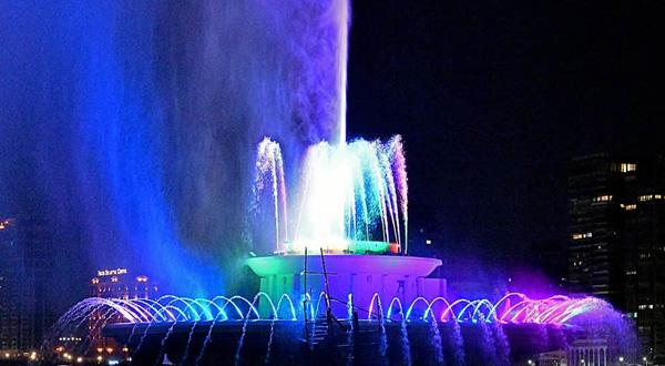 famous Nile Fountain