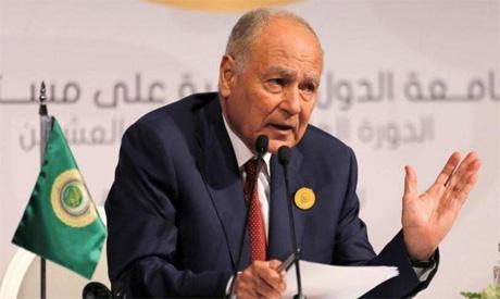 Arab League (AL) Secretary General Ahmed Abul-Gheit