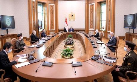 El-Sisi meeting