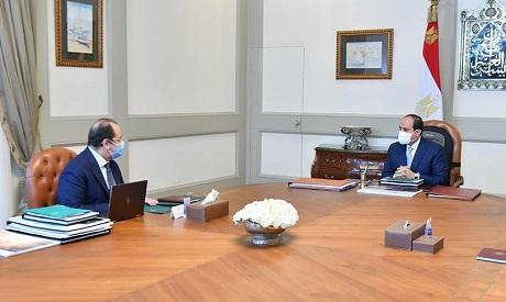 El-Sisi meets with Abbas Kamel