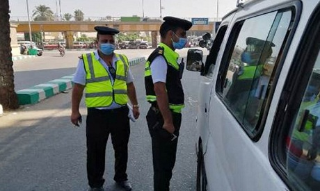 File photo: Policemen following up on citizens