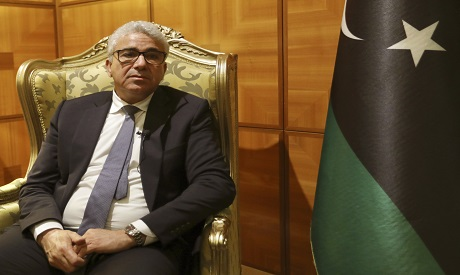 Libya's UN-supported government's interior minister Bashagha (AP Photo)