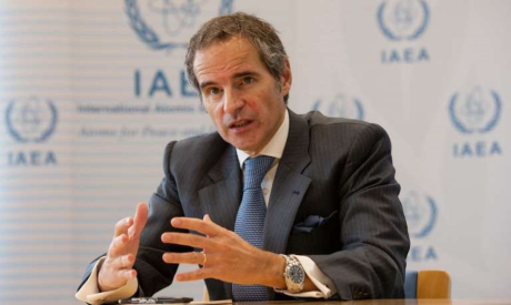 IAEA Director General Rafael Mariano Grossi