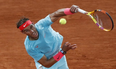 Nadal pulls out of ATP Cup tie with stiff back