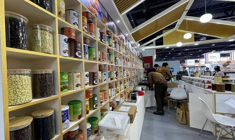The Gulfood 2021 exhibition hosting over 2500 exhibitors from 85 countries (photo courtesy of Gulfoo