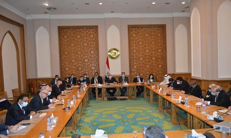 Arab and European Ambassadors in Cairo