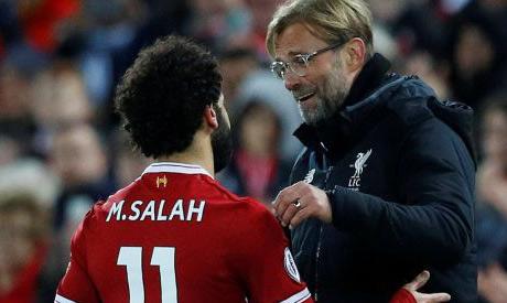 """كلوب يأمل أن يبقى المصري صلاح في ليفربول """" لفترة طويلة جدًا """""""