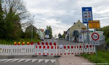 germany/france border