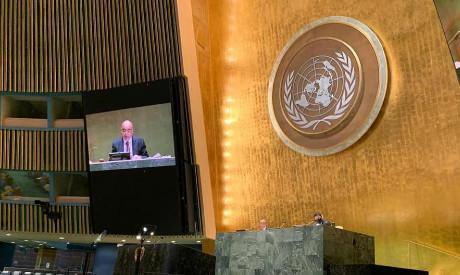 Egypt Permanent UN Rep Mohamed Edrees