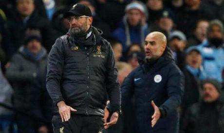 Klopp and Guardiola