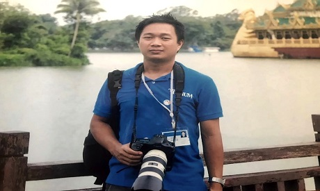 AP journalist Thein Zaw