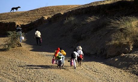 Ethiopian Refugees in Sudan