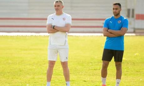 Zamalek's coach Carteron