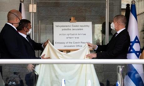 Czech PM Andrej Babis in Israel REUTERS