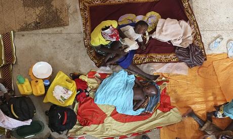 Mozambique's humanitarian crisis. AP Photo