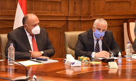 Shoukri during his meeting with MPs last Sunday (photo: Khaled Mashaal)