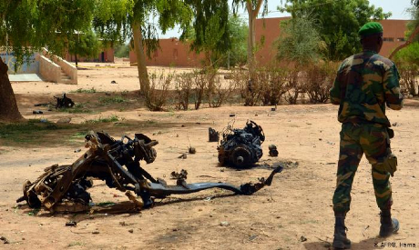 Security around the borders between Niger and Mali
