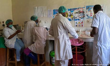 Medical workersin DR Congo