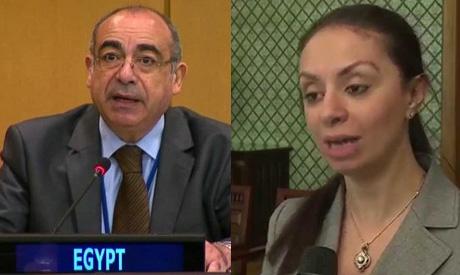 Mohamed Idris and Maya Morsy