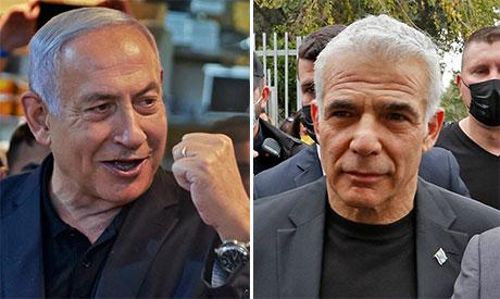 Benjamin Netanyahu and Yair Lapid