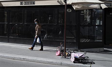 Paris lock down