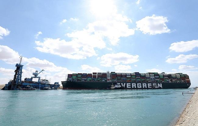 Ever mega ship