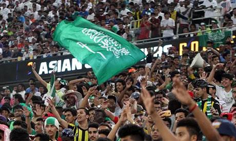 Saudi fans