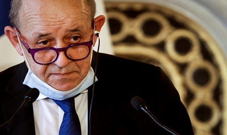 French Foreign Minister Jean-Yves Le Drian. AFP