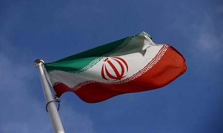 Iranian Flag in front of IAEA headquarter