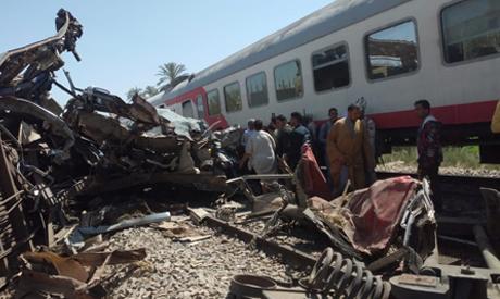 Probing the Sohag train crash