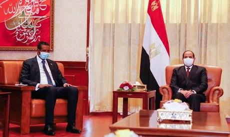 El-Sisi and Dagalo