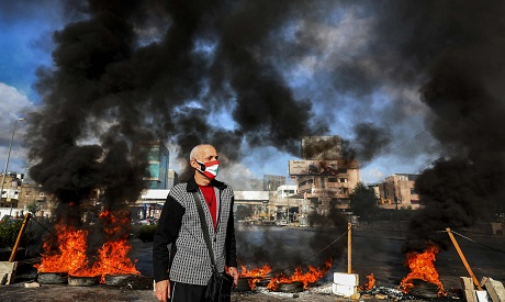 Lebanon protests protest against the deteriorating value of currency AFP