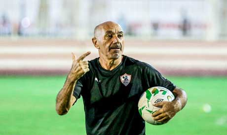 Zamalek coach Pacheco