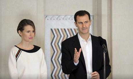 Bashar & Asma Al-Assad