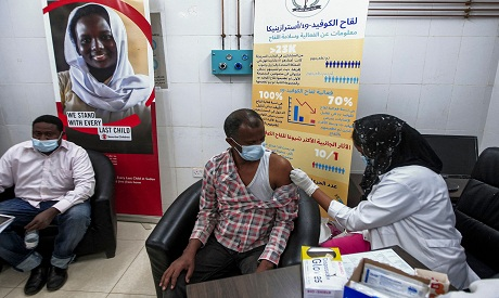 Sudan launches vaccination roll-out for medical workers AFP