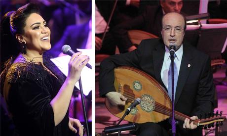 Maye Farouk and Safwan Bahlawan