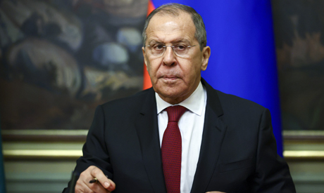 Russian Foreign Minister Sergey Lavrov . AP